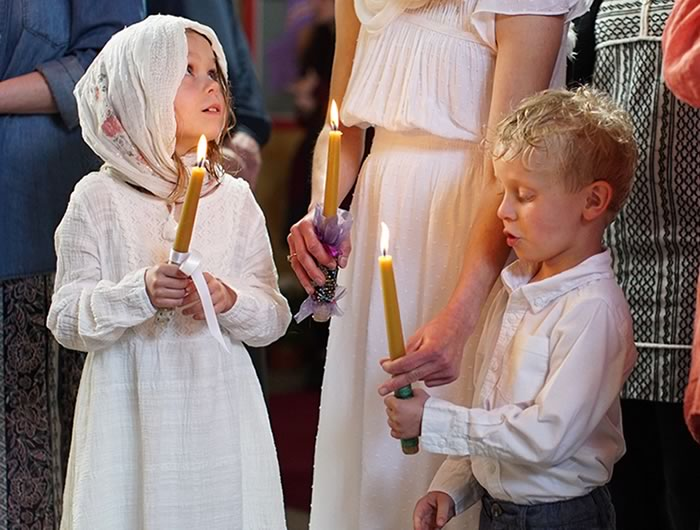 Holy Theophany Orthodox Church - Orthodox Faith - Children and Church